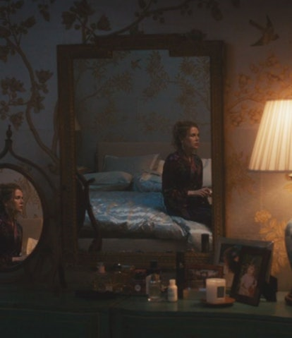 Grace Fraser's perfume in 'The Undoing' on vanity.