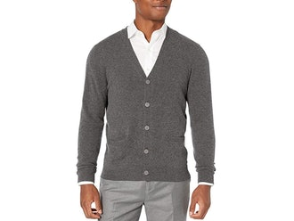 Buttoned Down Cashmere Cardigan Sweater