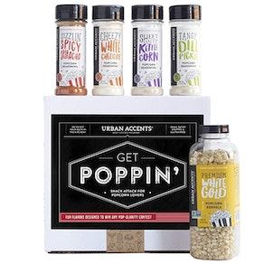 Urban Accents GET POPPIN', Gourmet Popcorn Seasoning Set