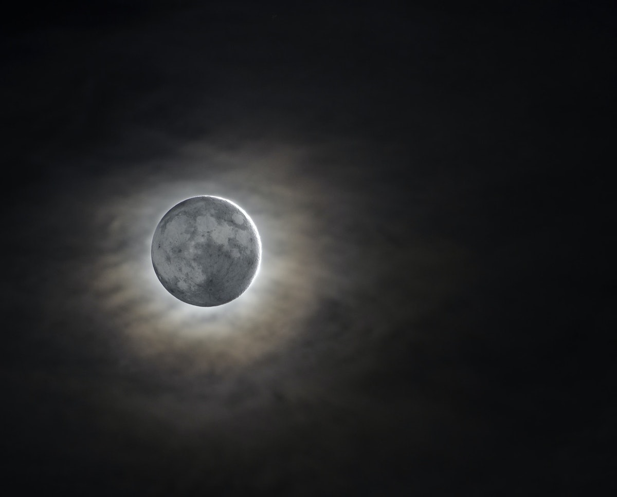 The December 2020 new moon is also a total solar eclipse.