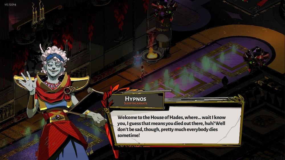 hades game hypnos