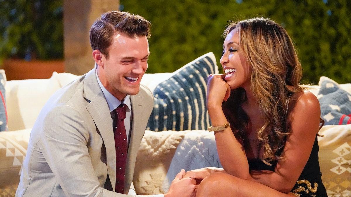 Ben On Tayshia's 'Bachelorette' Season