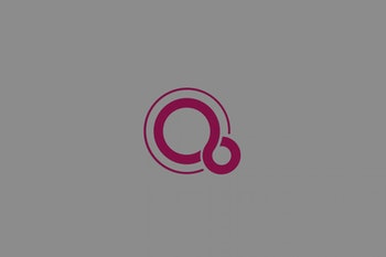 Logo for Google's Fuchsia, a mysterious new operating system.