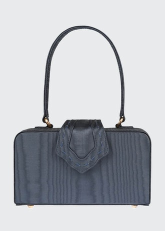 Moire Fey In The 50s Top Handle Bag