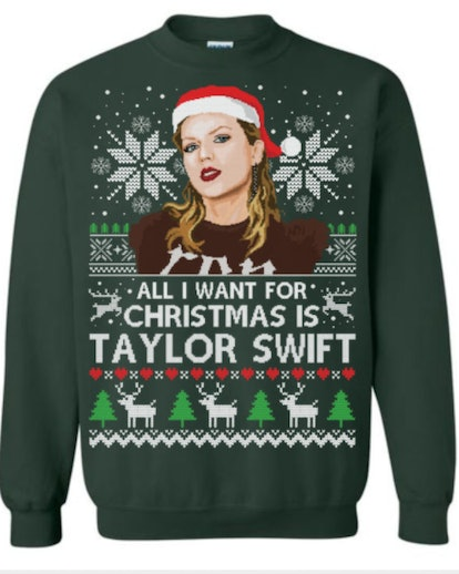 All I Want For Christmas Is Taylor Swift Christmas Sweater
