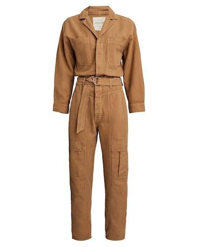 Willa Cotton-Linen Jumpsuit