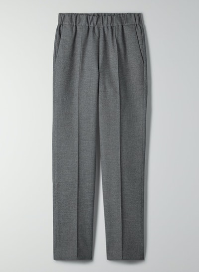 Quarry High-Waisted Flannel Pant
