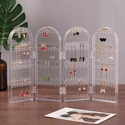 Cq acrylic Acrylic Hanging Jewelry Organizer