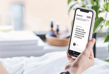 Hinge's Standouts feature on a phone.