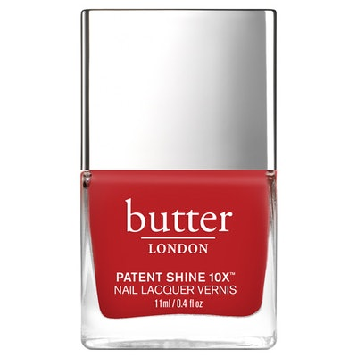 Patent Shine 10X Nail Lacquer in Come To Bed Red