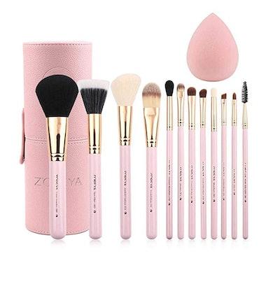 Zoreya Makeup Brush Set (12-Piece)