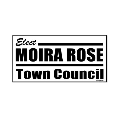 """Elect Moira Rose"" Magnet"