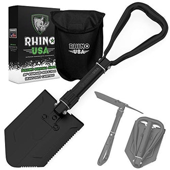 Rhino USA Folding Survival Shovel and Pick
