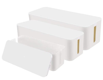Chouky Cable Organizer Boxes (3-Pack)