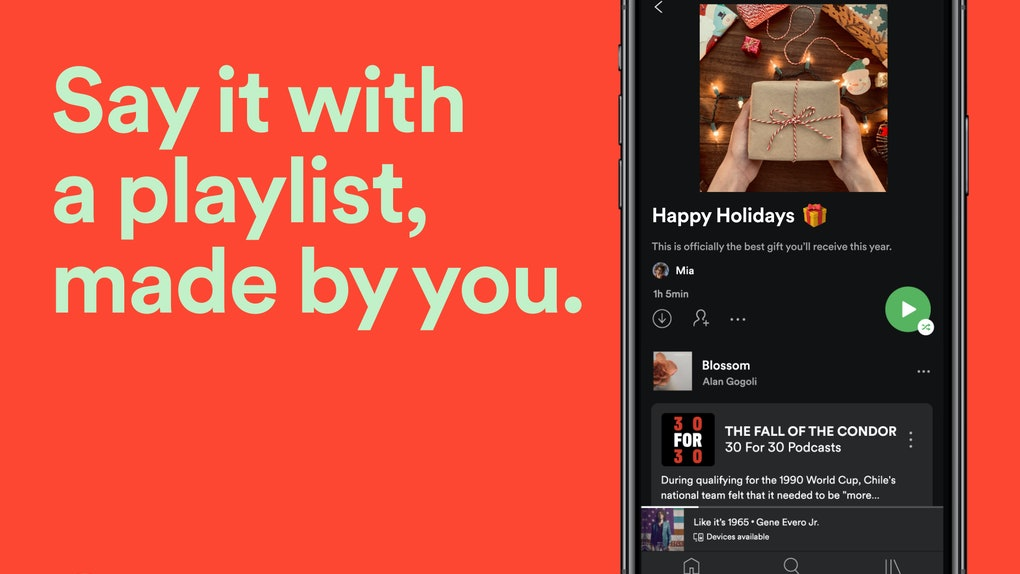 Here's how to make custom playlist images on Spotify to send to your BFFs.