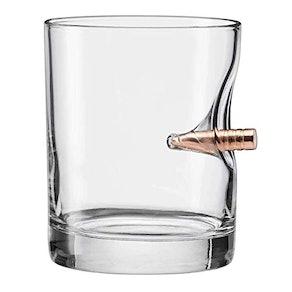 BenShot Bullet Rocks Glass