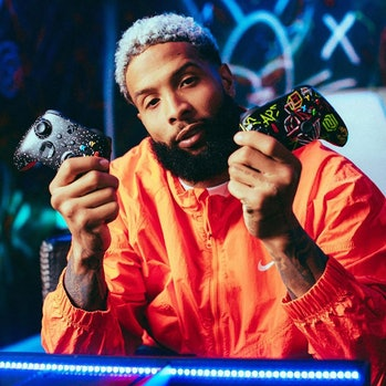 Odell Beckham Jr. Xbox Controllers