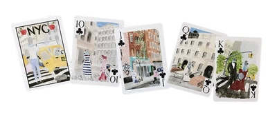 LouLou Baker New York City Playing Cards