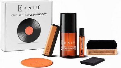 KAIU 5-in-1 Vinyl Record Cleaning Kit