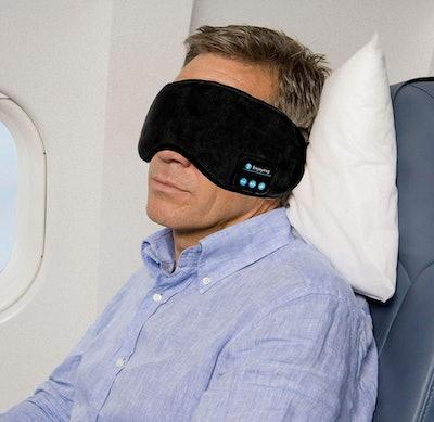 Joseche Store Sleep Headphones Bluetooth Eye Mask