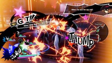 Persona 5 Strikers Combat Dynasty Warriors Scramble
