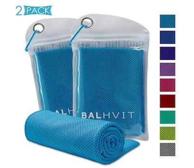 Balhvit Instant Cooling Towels (2-Pack)