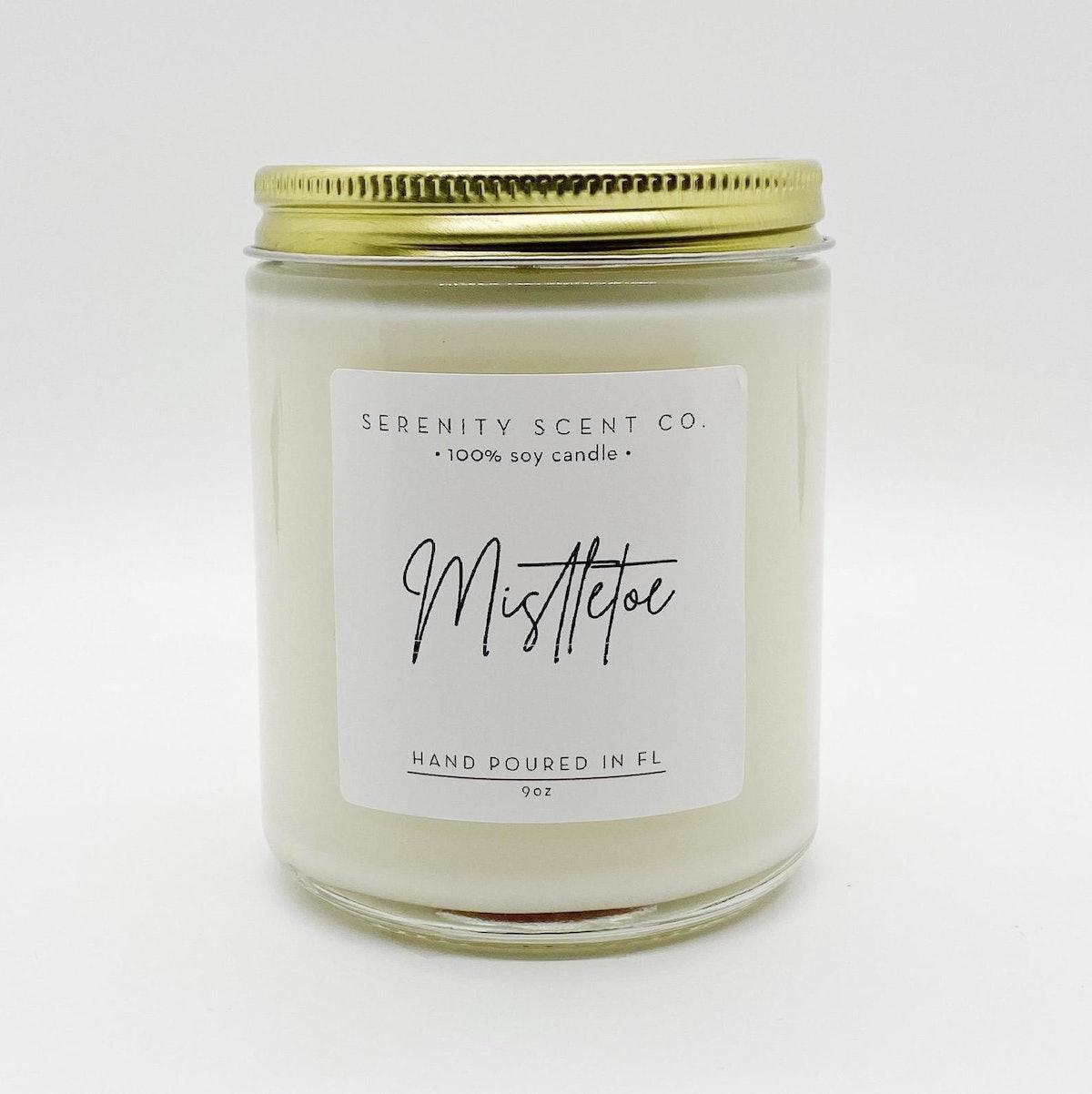 Mistletoe | Handmade Soy Candle | 100% Soy Wax