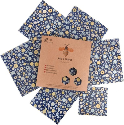 Beeswax Wraps Set of 6