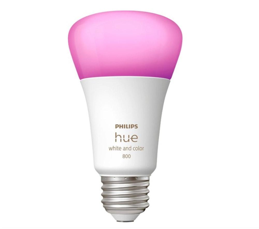 Philips Hue White & Color Ambiance A19 Bluetooth LED Smart Bulbs