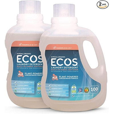 ECOS Hypoallergenic Laundry Detergent (100 Ounces) (2-Pack)