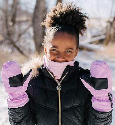 Zelda Matilda Children Winter Waterproof Gloves