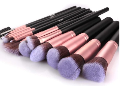 BESTOPE Makeup Brushes (16-Pieces)
