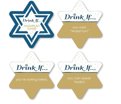 """Drink If"" Hanukkah Party Game"