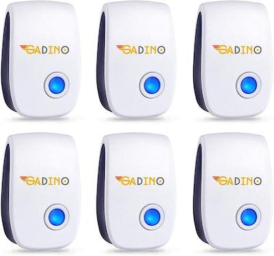GADINO Indoor Ultrasonic Pest Repellent (6-Pack)
