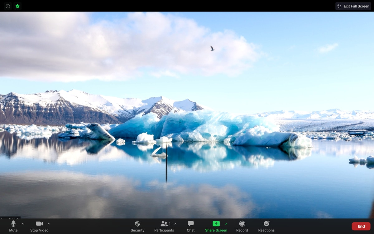These winter Zoom backgrounds include so many 'Gram-worthy destinations.