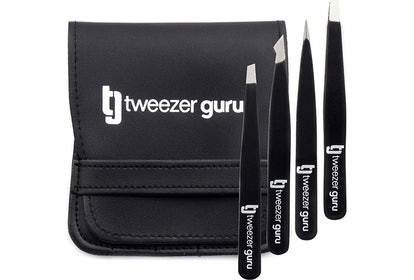 Tweezer Guru Tweezers Set (4 Pieces)