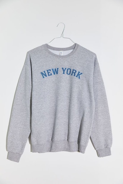 New York Fleece Crew Neck Sweatshirt