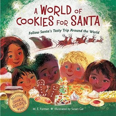 'A World of Cookies for Santa: Follow Santa's Tasty Trip Around the World'