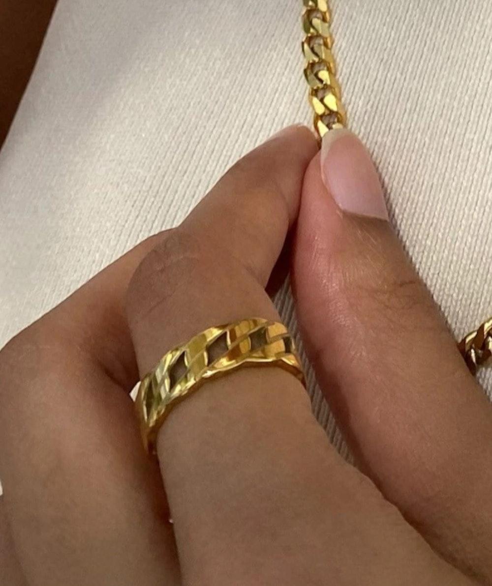 Esma Chain Ring