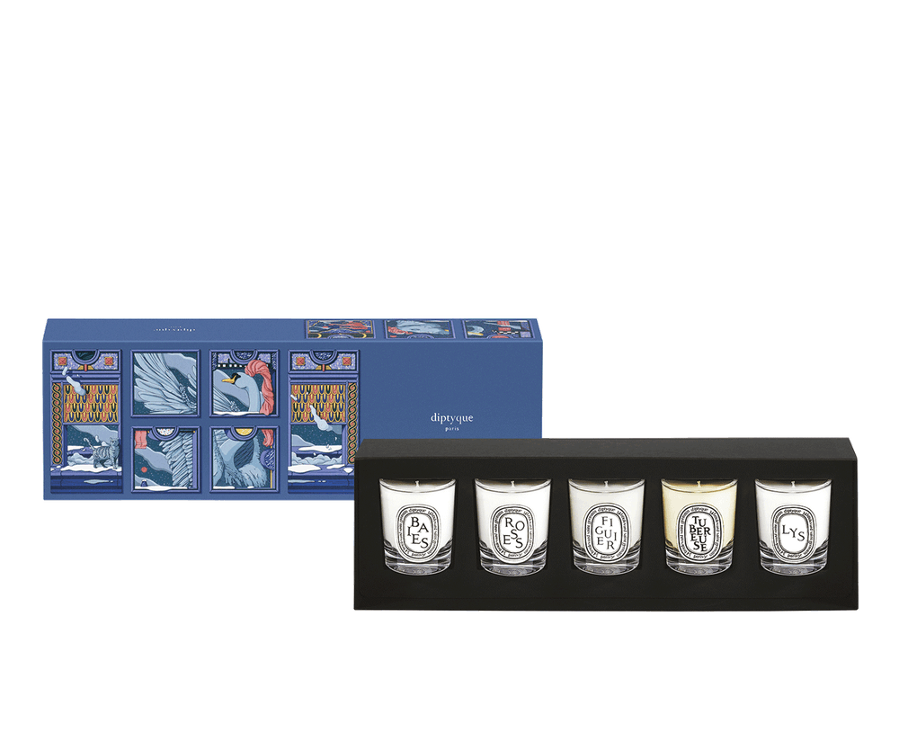 Diptyque Set of five scented candles