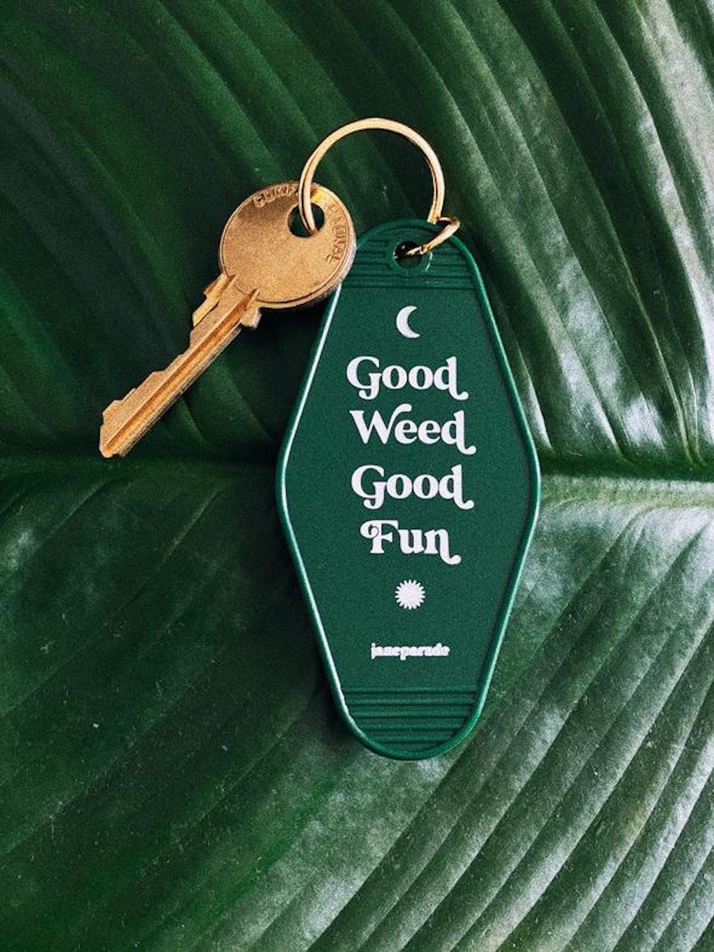 Good Fun Motel Keychain