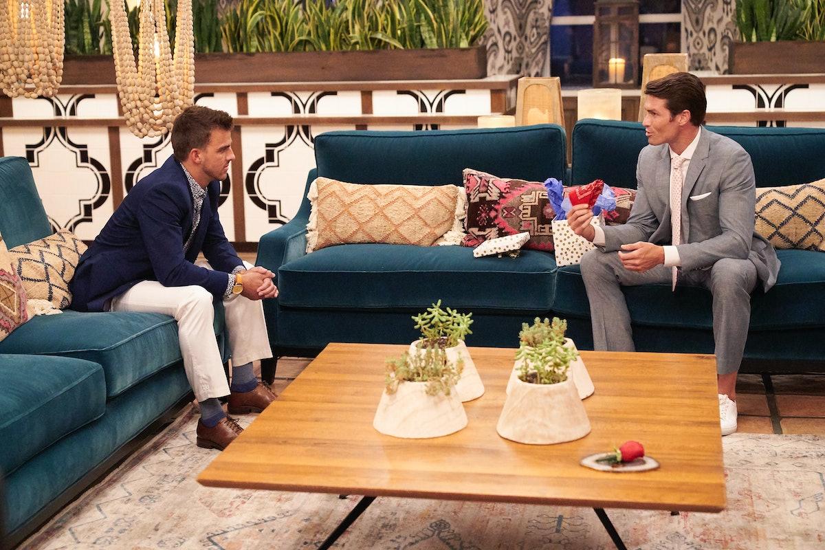 Bennett and Noah on Tayshia's 'Bachelorette' season