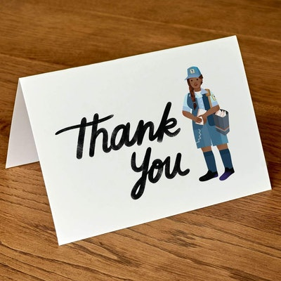 Postal Worker Thank You Cards