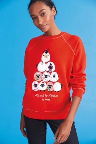 Graphic Christmas Sweatshirt