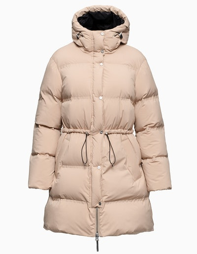 Galena Hooded Quilted Down Coat