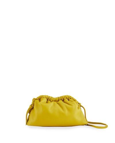 Mini Lambskin Cloud Clutch Bag