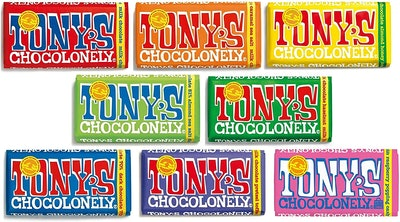 Tony's Chocolonely Chocolate Mixed Case