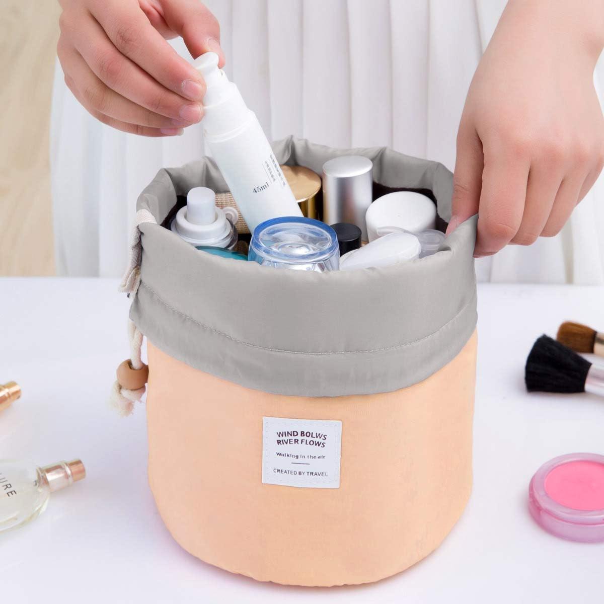 EUOW Barrel Makeup Bag