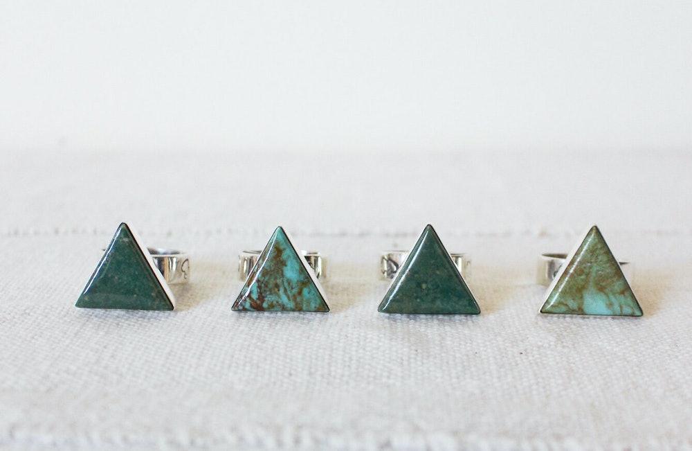 Navajo Made Small Slab Ring