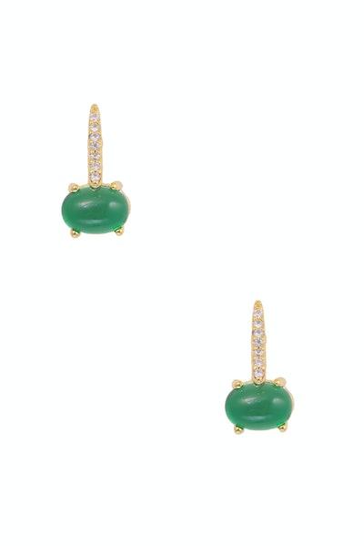 Guilia Emerald Earrings